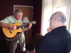 Trying Out John Knowles' new Kirk Sands Guitar